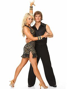 DWTS Season 9 Cast Celebrity Louie Vito and Professional Chelsie Hightower