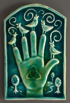 Hand with Symbol, Lisa Muller