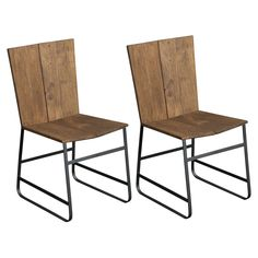 Coast to Coast Industrial Casual Dining Chair - Set of 2 - CTCI837