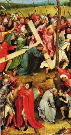 Christ Carrying the Cross, 1485, Hieronymus Bosch