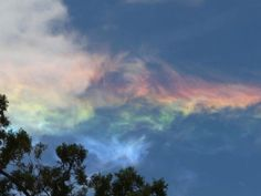Weird Fire Rainbows that Appear in the Sky, Have You Ever Seen Them?