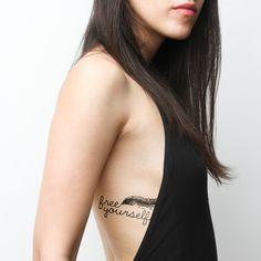 Escape Plan nature temporary tattoos http://tattify.com/product/escape-plan/