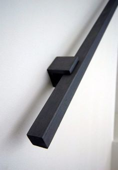 New Black Stairs Railing Banisters Ideas Staircase Handrail, Banisters, Staircase Design, Handrail Ideas, Handrail Brackets, Staircase Ideas, Railings For Stairs, Staircase Remodel, Spiral Staircases