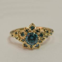 Cute Rings, Pretty Rings, Beautiful Rings, Cute Jewelry, Vintage Jewelry, Jewelry Accessories, Jewelry Design, Pretty Engagement Rings, Emerald Wedding Rings
