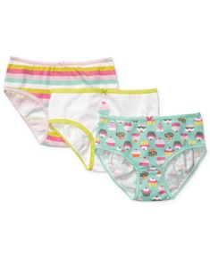 Carter's Kids Underwear, Little Girls or Toddler Girls 3-Pack Panties - Kids Toddler Girls (2T-5T) - Macy's