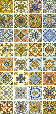 Tile Mexican style on Behance
