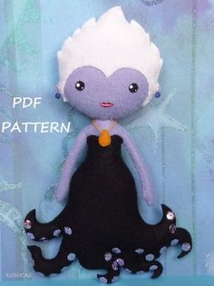 Ursula from the Little Mermaid sewing pattern