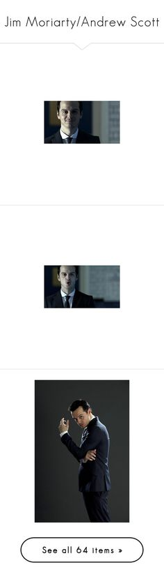 """""""Jim Moriarty/Andrew Scott"""" by lovely-philosopher ❤ liked on Polyvore featuring sherlock, moriarty, people, pictures, men, backgrounds, fandoms, filler, accessories and eyewear"""
