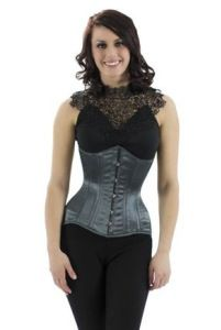 Tight-Lacing vs Waist-Training What's the Difference? With the influx of novice corset wearers, we are frequently asked about tight-. Posture Support, Lace Tights, Underbust Corset, Hourglass Figure, Waist Training, Formal Dresses, Pretty, How To Wear, Clothes
