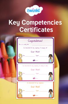 Certificates aligned with the New Zealand Key Competencies Growth Mindset, Certificate, Congratulations, Key, Learning, Unique Key, Studying, Teaching, Onderwijs