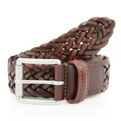 Men's Belts - necessary fashion accessory. Never buy a pleather belt. Mens Braided Leather Belt, Leather Belts, Men's Belts, Leather Art, Brown Leather, Mens Essentials, Fashion Essentials, Leather Accessories, Fashion Accessories