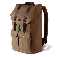 Trublue The Original Sedona Brown Laptop Canvas Backpack
