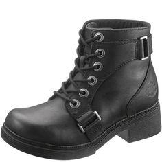Harley-Davidson Women's Celia Work Boot, Black, 10 M US - http://womenswinterboots.asiaparent.com/harley-davidson-womens-celia-work-boot-black-10-m-us/