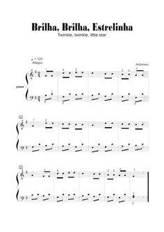 Adriano Dozol - Dicas, Partituras Grátis e Vídeos - Teclado | Piano: Brilha, Brilha, Estrelinha (Twinkle, twinkle, litl...