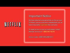 YSK About This Bogus Netflix Tech Support Scam which is phishing for information to gain access to you computer