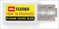Feather Razor Blades and Reviews