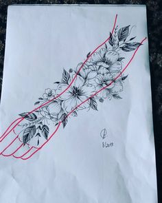 idei super Project super delicate, this has already been sold but who have related only bring q idea creation is me brand that crazy friend for flowers aunt Ana thank Rosen Tattoo Mann, Rosen Tattoo Frau, Floral Tattoo Design, Flower Tattoo Designs, Flower Tattoos, Tattoo Design Drawings, Sleeve Tattoos For Women, Tattoos For Guys, Forearm Tattoos