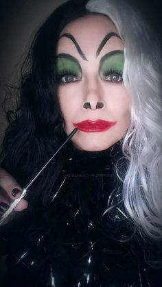 Halloween makeup look using Younique makeup. Why not skip the ...