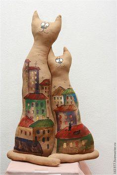 """Ароматизированные куклы ручной работы. Ярмарка Мастеров - ручная работа. Купить Чердачная кукла """"Амур-мур-мур"""". Handmade. Коричневый"""
