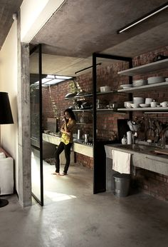 Love this kitchen! Gaaf