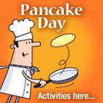 Pancake Day (Shrove Tuesday)/Lent Activities for Children – iChild Shrove Tuesday Traditions, Shrove Tuesday Activities, Pancake Day Games, Pancake Party, Eyfs Activities, Activities For Kids, Child Teaching, Primary Teaching, Teaching Resources