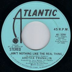 Ain't Nothing Like the Real Thing by Aretha Franklin