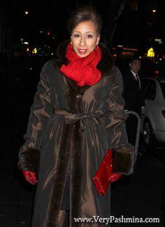 #TamaraTunie Lavishes In Cherry #RedScarf