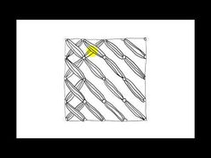 Zentangle Patterns | Tangle Patterns? - Snood - YouTube