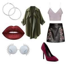 ♡ by maroudinelisa on Polyvore featuring polyvore fashion style Charles by Charles David Linda Farrow Lime Crime clothing