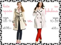 Shopping Spotlight: Contrast Trim Trench Coat