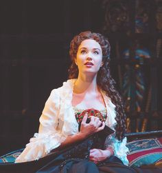 Sierra Boggess. Still can't get over how amazing she was a Christine.