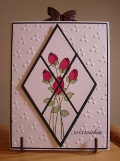 Diamond Anniversary by LynniePoo - Cards and Paper Crafts at Splitcoaststampers