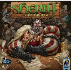 Sheriff of Nottingham - Fun in a box. Great party  game though it doesn't handle large groups. 'Buff said; just buy this.