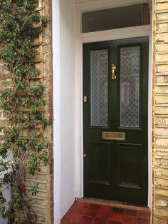 Beautiful Victorian front door recently installed in north London ...