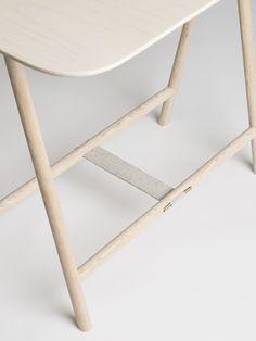 Spade Trestle Table. #table #detail #furnituredesign