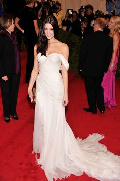 Ashley Greene in Donna Karan With Jacob | so daring. what an angelic look she made