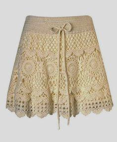 Mini skirt crochet PATTERN, boho crochet skirt pattern, detailed description in English for every row, sexy crochet mini skirt with ruffles. Crochet Skirt Pattern, Crochet Skirts, Knit Skirt, Crochet Clothes, Lace Skirt, Crochet Patterns, Crochet Ideas, Gilet Crochet, Crochet Lace