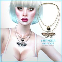 Sims 4 CC's - The Best: Necklace by Pralinesims