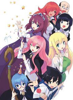 Zero No Tsukaima 💞 Otaku Anime, Manga Anime, Anime Art, Tsundere, Zero No Tsukaima Anime, The Familiar Of Zero, Animé Fan Art, Anime Group, Dramas