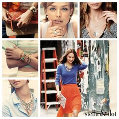 The new Spring Collection is here. Refresh your style! www.stelladot.com/JennyRaffield