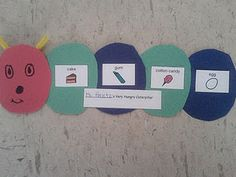 The Very Hungry Caterpillar  - great language and speech activities - - Pinned by @PediaStaff – Please visit http://ht.ly/63sNt for all (hundreds of) our pediatric therapy pins