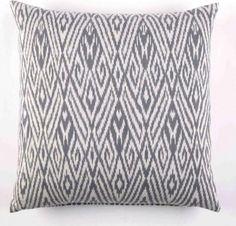 John Robshaw Ikat Cushion - mediterranean - Cushions - Idyll Home