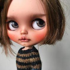 Trade girl for @litachan01 #tiinacustom #customblythe #blythedoll