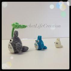 "Aamigurumi Totoro crochet  "" my neighbor totoro """