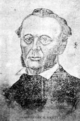 Elizur Deming (1797-1855) was a leading agent in the Underground Railroad and active in helping transport slaves through Tippecanoe County in Lafayette, Indiana