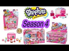 Coming Soon- Season 4 Shopkins Sweet Spot, Cupcake Queen Cafe Playset + Shoppies Doll - Cookieswirlc - YouTube