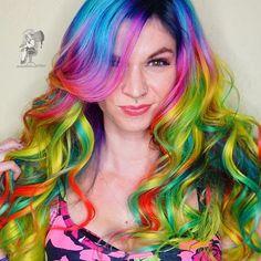 ᗩᗷᔕiᑎTᕼEⓁⓤⓣⓛⓔⓨ Ⓝⓞⓣ ᗷᑌt oᑎ ᗩ ᔕeᑕoᑎᗪ ᑎote ♪ Iᗪ ᒪook ᗩt tᕼiᔕ gᖇeeᑎ ᖴᗩiᖇy ᗩᒪᒪ ᗪᗩy ᒪoᑎg 웃✬ツ @pulpriothair @hairartproducts @brazilianbondbuilder #b3 #brazilianbondbuilder #modernsalon #ipredictariot #pulpriothair #behindthechair #btconeshot_color16 #btconeshot_rainbow16 #colordollzbytoni #toniroselarson