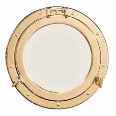 Amazon.com: Standard Port Hole Mirror Nautical Tropical Home Decor: Kitchen & Dining