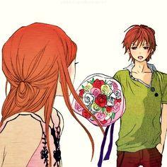 OtanixRisa // Lovely Complex Manga Anime, All Anime, Anime Love, Anime Art, Koizumi Risa, Lovely Complex Anime, Hot Anime Couples, Anime Qoutes, Kawaii