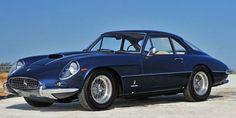 1962 Ferrari 400 Superamerica-SWB-Coupe-Aerodinamico (Pininfarina) 4.0L V12 340Hp 160Mph (First Ferrari to have all Disk Brakes)